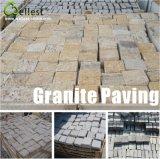 Yellow/Light Grey/Dark Grey/Black Granite Cube Paving Stone for Garden and Patio