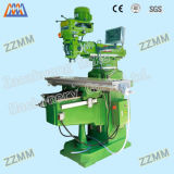 Universal Turret Milling Machine for CE Proved
