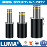 Semi - Automatic Rising Blocker Security Retractable Bollard with 304 Stainless Steel