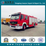 HOWO Fire Fighting Emergency Truck for Sale