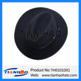 Traditional Mountain Apline Hat with Leather Band