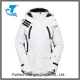 Outdoor Women White Sport Ski Jacket