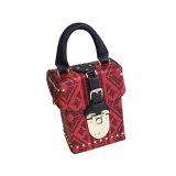 New Studded and Embossed PU Shoulder Bag Messenger Bag Wzx1396