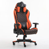 Popular Leather Material Back Adjustable Recline Used Office Swivel Gaming Chair with Armrest
