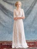 Custom Bridal Formal Gowns Lace Beach Wedding Dress Yae39