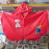 Kids PVC Raincoat Cute Rainwear Poncho Jm370b