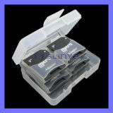 OEM Micro SD TF Memory Card Adapter Plastic Case Box (TF-118)