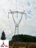 220kv Doubule Circuit Tangent Power Transmission Tower