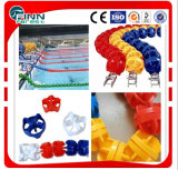 Diameter 11cm 12cm 15cm Swimming Pool Float Lane Rope / Nylon Floating Rope