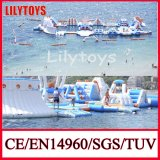 Attractive! Giant Inflatable Floating Water Slide Water Park Adult Sport Game for Sea (J-water park-04)