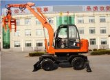 Hot Selling Grapple Machine Wheel Excavator with Ce