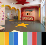 Environmentally Friendly Colorful Vinyl Floor in Rolls for Children