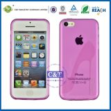 High Heels Design TPU Cell Case for Apple iPhone 5c