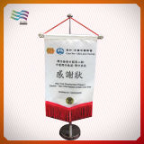 Customized 100% Polyester Table Flag for Indoor Decoration (HYTF-AF012)