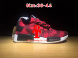 Addas Nmd Runner Pk The First Red Clover Blue Running Shoes for Men and Women Sports Shoes Size 36-44