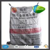 56-58 Deg Melting Point Fushun Kunlun Brand Fully Refined Paraffin Wax 50kg Woven Bag