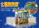 Bear Revolving Chair Merry Go Round 12p /Amusement Park Ride (LF05)