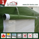 Aluminum Frame Green PVC Military Army Tent