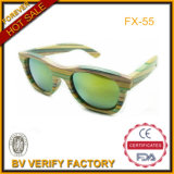 Natural Colored Bamboo Sunglasses with Polarized Lens