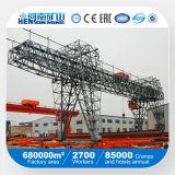 Remote Control Double Beams Mobile Gantry Crane