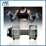 2.2L Sport Gym Running Cap Kettle Dumbbell Water Bottles