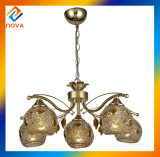 Tranditional Indoor Brass Chandelier Pendant Light