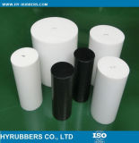 Black Molded PTFE Round Bar