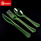 Reusable Disposable Plastic Cutlery