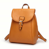2017 Wholesale Fashion Style Ladies Leather School Backpack