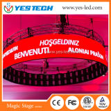 Full Color Cylinder/Round/Curved LED Display Panel