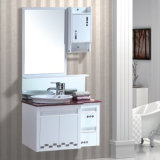 High Gloss Simple Mirrored Bathroom Vanity