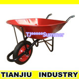 Heavy Duty Wheel Barrow Wb7500 with Powder Coating Tray