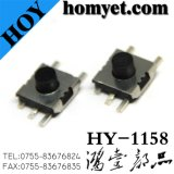 Tact Switch with 6.5*6.5*3.7mm Five Pin SMD