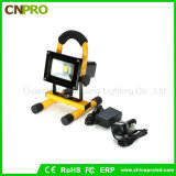 Portable 10W COB Type Super Bright LED Work Light Rechargeable Flood Lamp