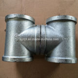 "3"" Banded Galvanized Tee Malleable Iron Pipe Fittings"