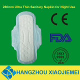 280mm Ultra Thin Sanitary Pad for Night Use