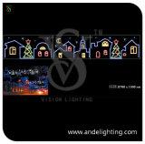 LED 2D Motif Light Christmas Street Decoration Light