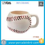 Unique Baseball Style Characteristic Ceramic Mug Cup