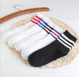 Spring Campus Against The Stench 100% Cotton Striped Leisure Breathable Factory Socks