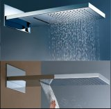 Waterfall and Rainfall Shower Head