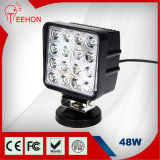 48W LED Work Light with Flush Mount