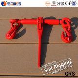 Australian Standard Racthet Type Red Painted Chain Load Binder