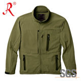 Men Outdoor Softshell Fleece Jacket Newest Winter Jacket (QF-4061)