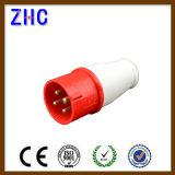 IEC60309-2 16A 380V 3p+E IP44 Wall Mounted Plug