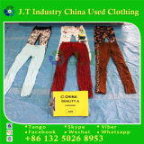 Fashion Pants Used Clothing Leggings in Bulk