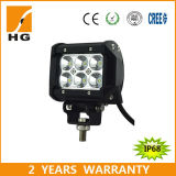 Double Row 18W 4′′ Offroad LED Light Bar with Bracket