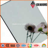 Washroom Inside Usage Silver Mirror Finish Aluminum Composite Panel (AE-201)