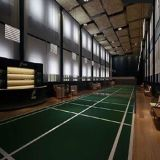 Indoor PVC Wooden Pattern Badminton/Baskestball Flooring