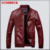 New Arrived Men′s PU Jacket in Fashion Design Coat
