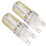 Silicone Waterproof Mini G9 SMD LED Bulb Lamp 3W Warm Cool White Decorative Home Lighting